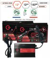 Pack lithium 12V – 2 batteries 12Ah & chargeur
