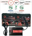 Pack lithium 12V – 2 batteries 42Ah & chargeur